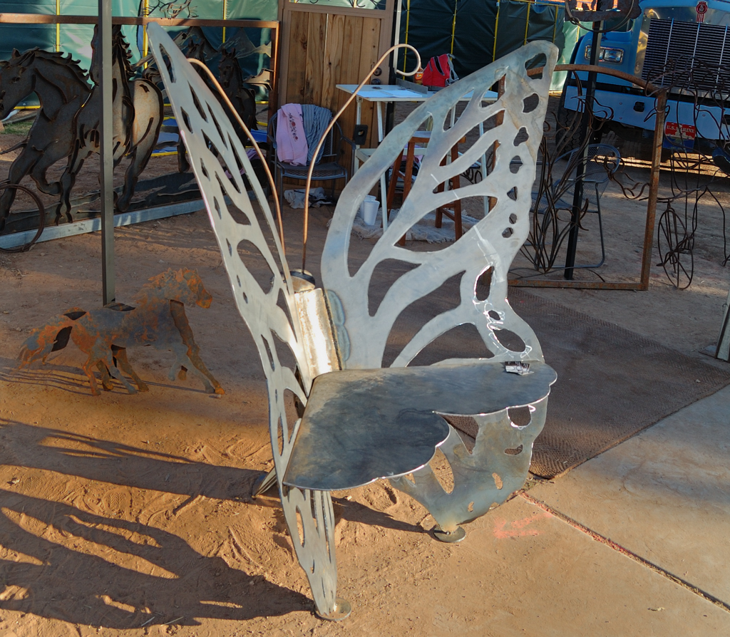 The Butterfly Bench