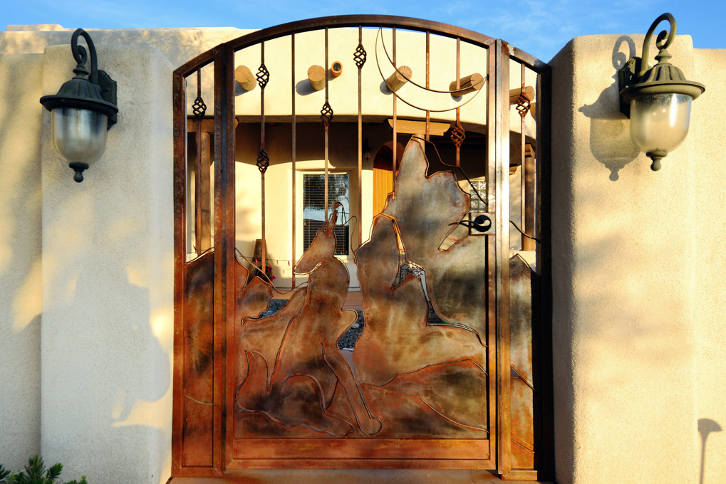 Coyote Entry Gate